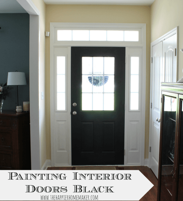 Painting Interior Doors plans