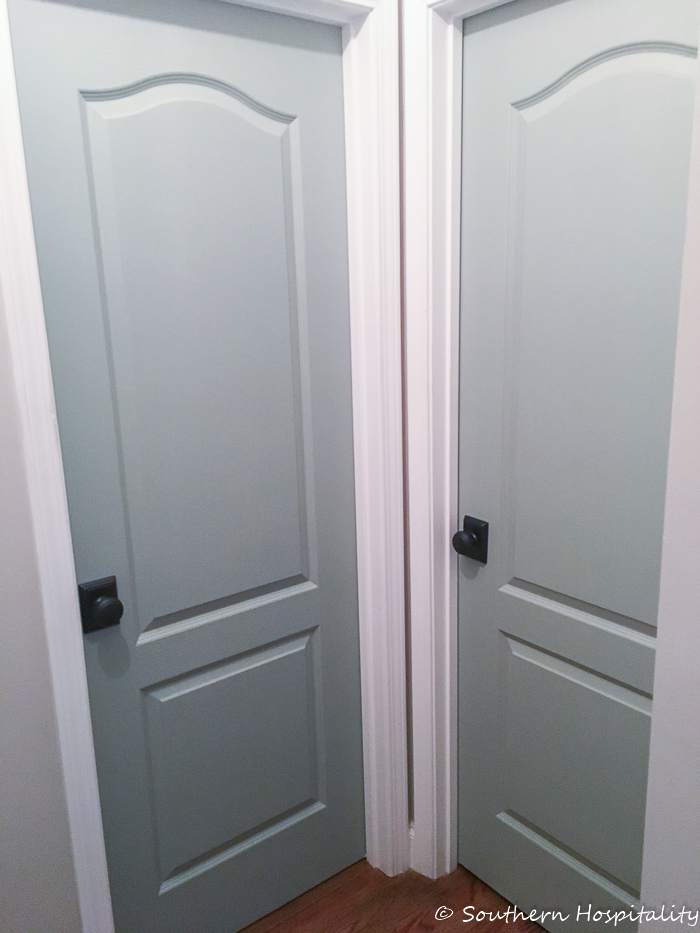 Painting Interior Doors double