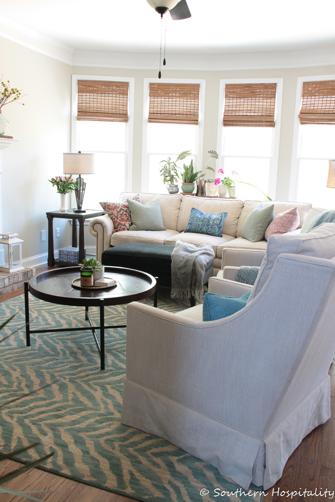 family room refresh