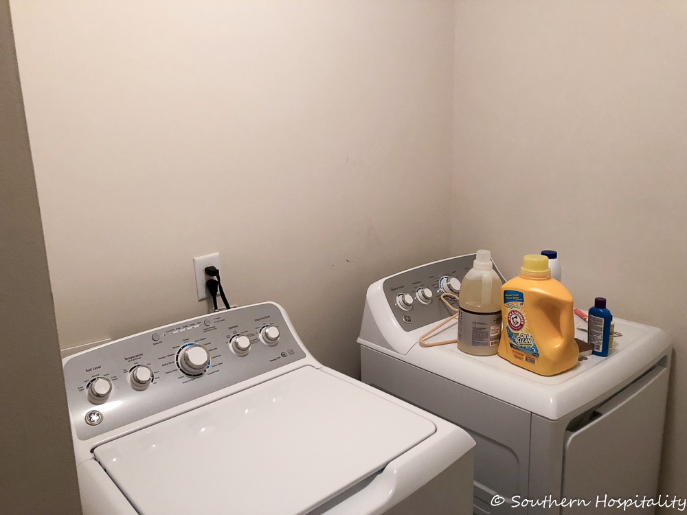 Modern Vintage Small Laundry Room Ideas Southern Hospitality
