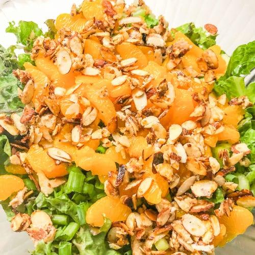 Mandarin Orange Tossed Salad Southern Hospitality