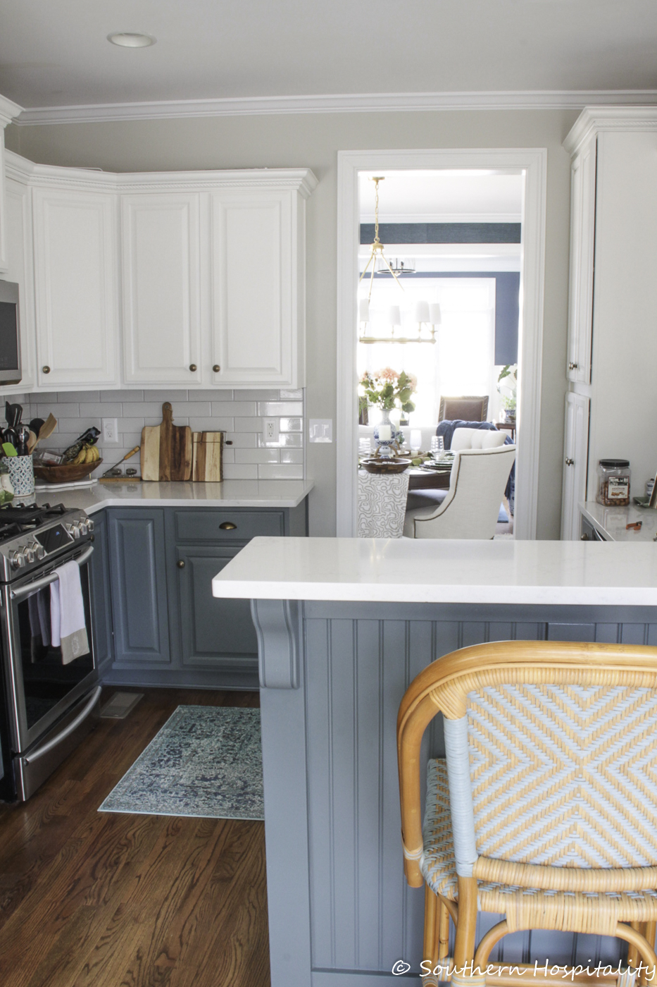 Spring Kitchen And Family Room Southern Hospitality