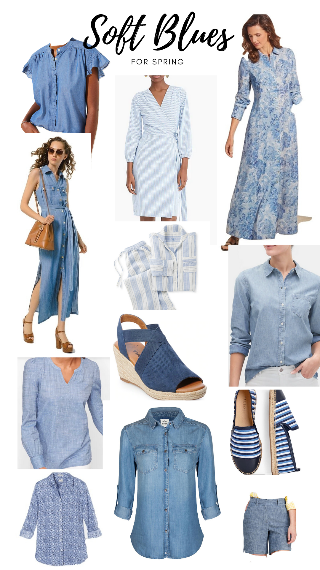 soft blues for spring fashion over 50