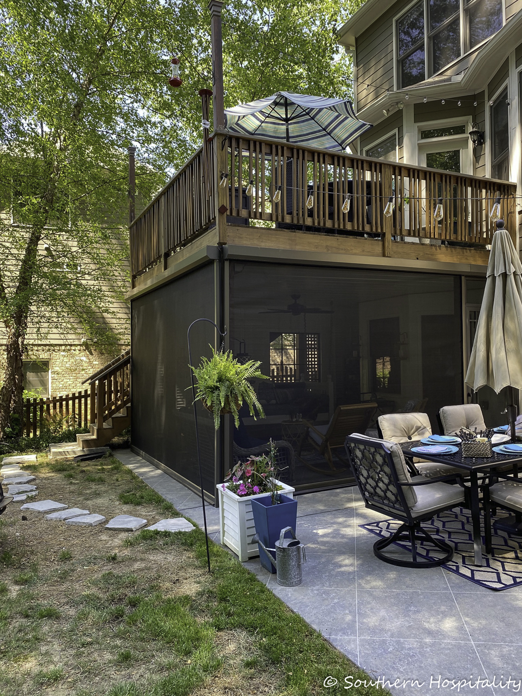 screen porch and patio reveal