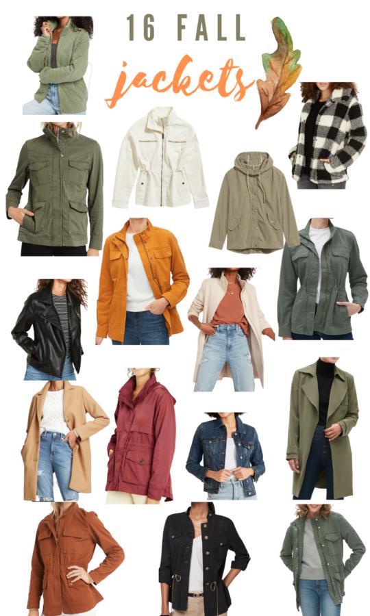 Fashion ove r50 Fall Jackets