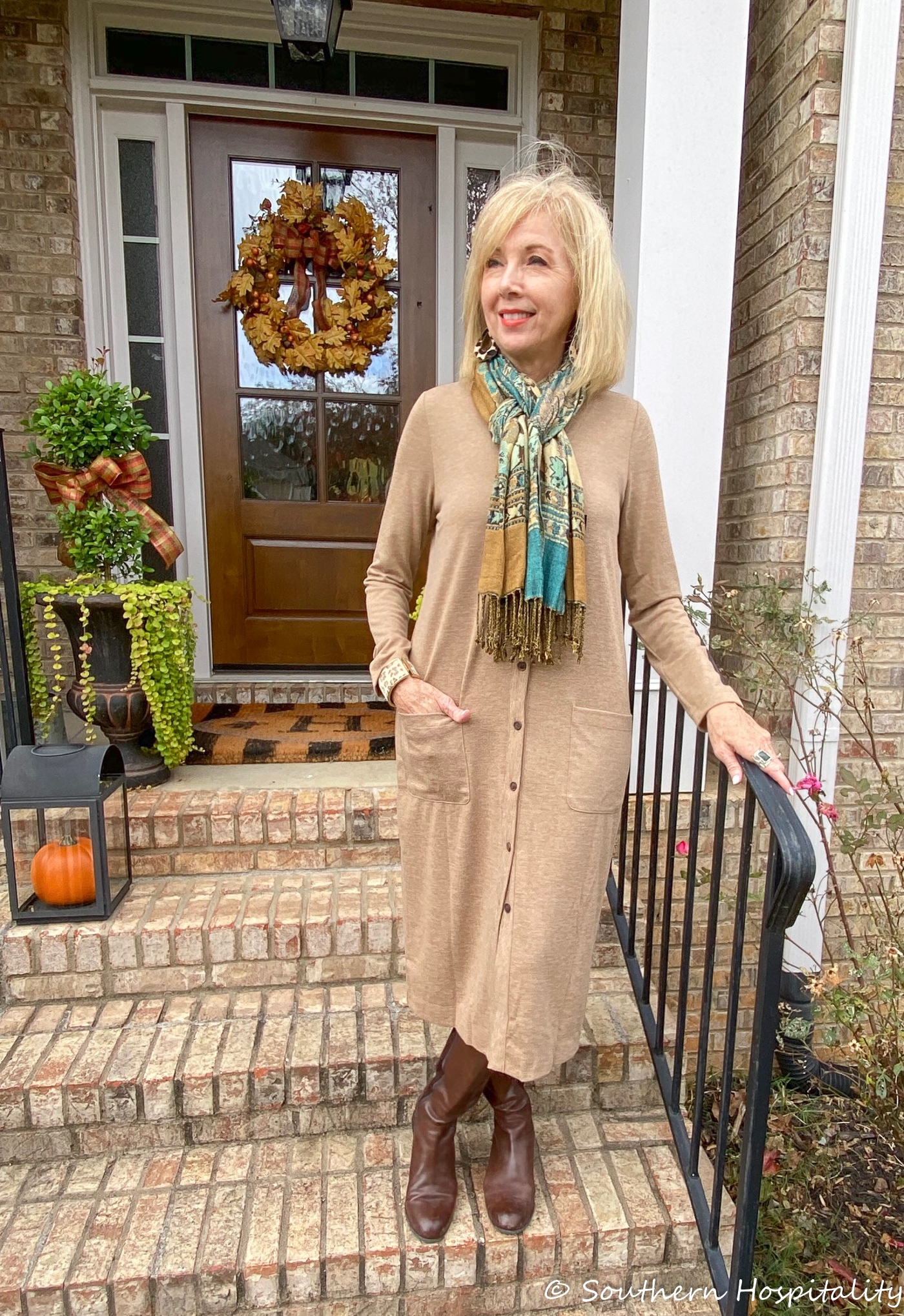 Fashion over 50 long cardigan sweaters