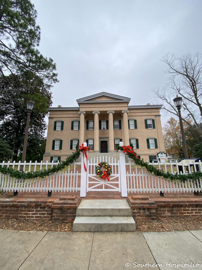 Georgia's Old Governors Mansion, Milledgeville GA