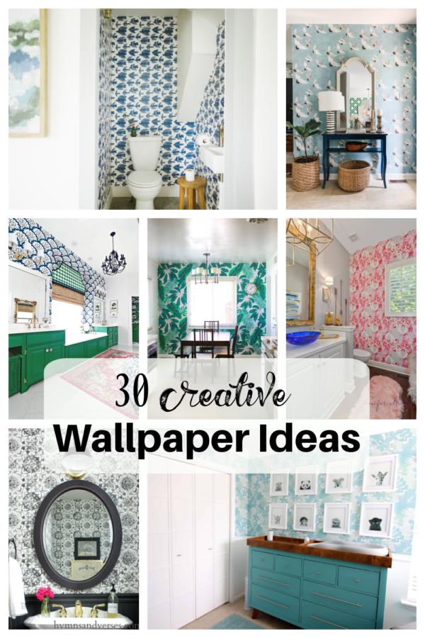 30 Creative Wallpaper Ideas
