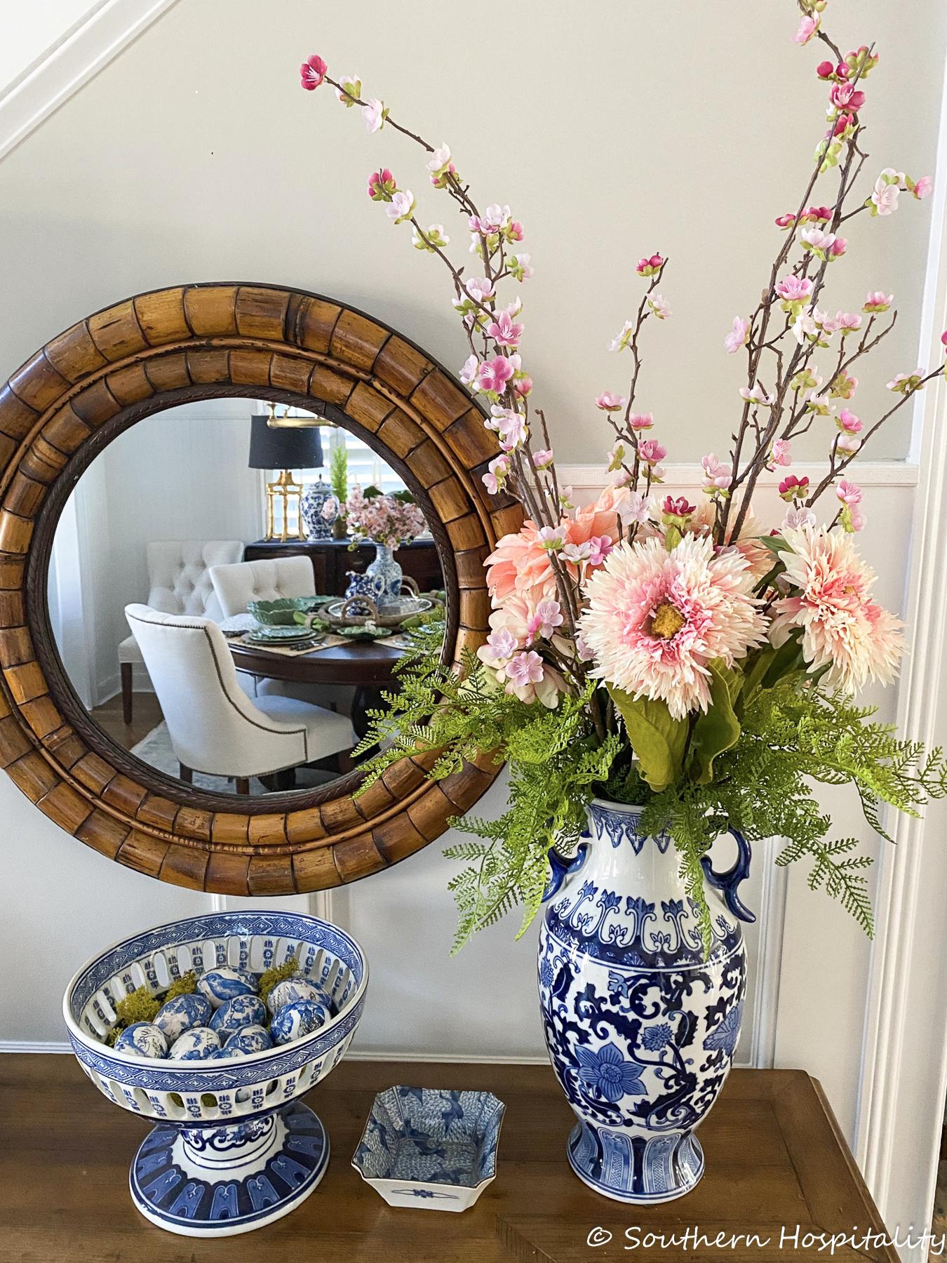 Spring Living Room & Foyer